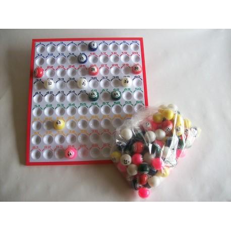 Plateau de contrôle pour balles de ping-pong de 38 mm