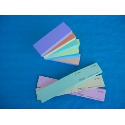 Carnet de 200 tickets de bourriche ou de tombola personnalisés - Lot de 25 carnets