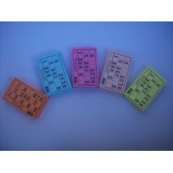 Carton de loto - Lot de 1000 cartons