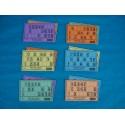 Plaques et cartons de loto de 2,5 mm d' épaisseur