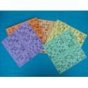 Plaques et cartons de loto souples 180 g pelliculés