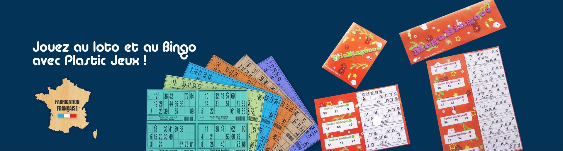 carton de loto, cartons de loto, jetons de loto, plaque de bingo, boulier de loto